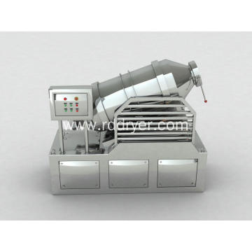 Granulated sugar two dimensional mixer