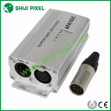 170pixels dmx para spi decodificador dmx para ws2811 decodificador levou decodificador dmx