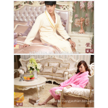 Wholesale High Quality Couples hotel knee length bathrobe
