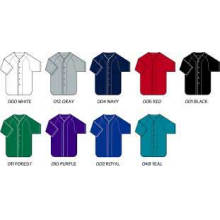 Mulheres Fashion Blank Dry Fit Baseball Jersey