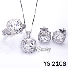 925 Silver Jewellery Set with Customed (YS-2108)