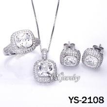 925 Серебряный набор ювелирных изделий с заказной (YS-2108)