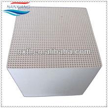 Монолит сота керамический для rto РКО, теплообменник, Регенератор, подложки, несущей катализатора, структурированные Media150x150x300mm