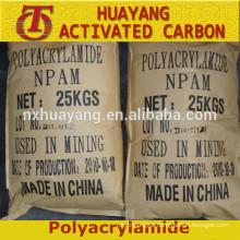 Flocculant Polyacrylamide cationic/anionic PAM Gold mine/mining explore