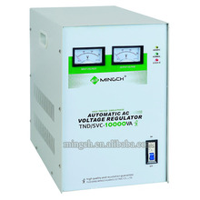 Tnd / SVC-10k Serie monofásica Regulador de voltaje AC completamente automático