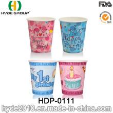 Copo de café de papel descartável para o partido das crianças com desenhos animados (HDP-0111)