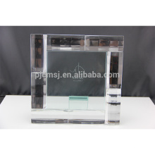 Top venda agradável qualidade cristal foto moldura