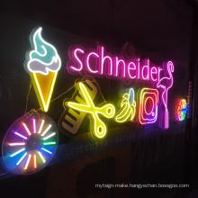 Custom led neon sign unbreakable outdoor neon logo led custom led neon sign for decorative