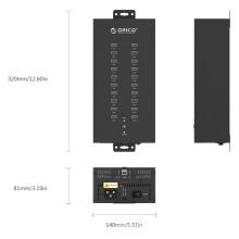 ORICO IH20P Industrial 20 Anschlüsse USB2.0 Hub