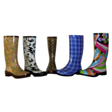 Safety Rubber Boots_Kids Rain Boots_Lady Fashion Rubber Boots