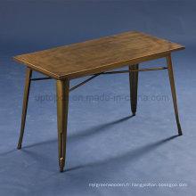 Vintage Cafe Tables Jean Pauchard 55 Tolix d'occasion (SP-CT676)