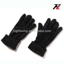 Guantes calientes del paño grueso y suave del precio bajo con los dedos completos