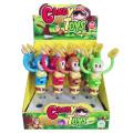 Macacos jogando gongos candy promoção brinquedo (h10069008)