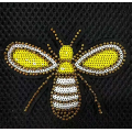 Wholesale Bee Machine Bead Embroidery Patches