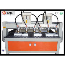 Wood Carving CNC Machine Six Spindles Woodworking Engraving Machine