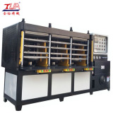 12 Workstation KPU Shoes Cover Machine