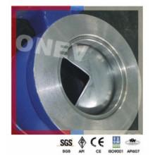 Válvula de esfera de segmento tipo V CF8m em aço inoxidável