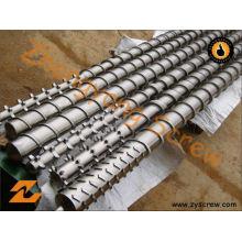 Tornillo de extrusión Barril Extrusor Tornillo Barril Componentes de maquinaria de plástico