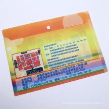 Material de escritório de alta qualidade Paper File Holder (saco de arquivo de plástico)