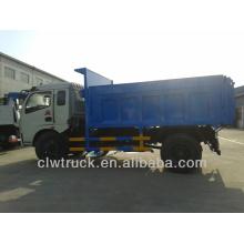 Caminhão da disposição waste de Dongfeng, caminhão de descarga do lixo 6-8CBM à venda