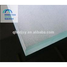 Ácido gravado 3-10mm vidro com CE / CCC / ISO com canto seguro