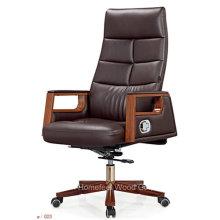 Cadeira de chefe de reclinação de couro de alta volta de design novo 2016 (HF-A2320)