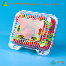 Clear plastic Strawberry packaging box