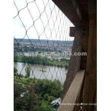 Zoo application protective stainless steel Inox aviary wire mesh