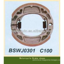Sapatos de freio de tambor para C100