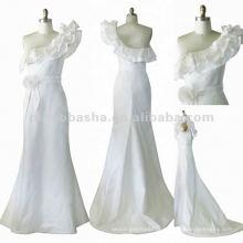 NY-1560 Robe de mariée à col roulé