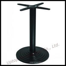 Круглый Чугун черный столика в ресторане базы (СП-MTL161)