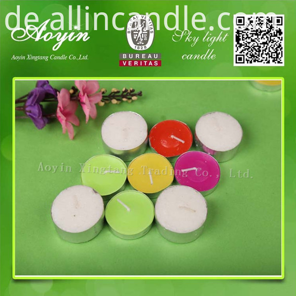COLOR TEALIGHT CANDLE30