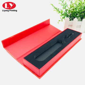 Красная магнитная шкатулка для драгоценностей