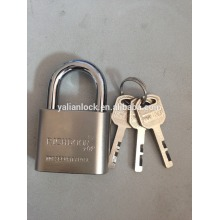 RICHDOOR Brand!!! Top Security Nickle Plated Short Shackle Big Round Corner Vane Key iron padlock