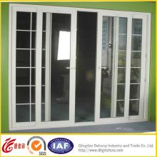 Porte en aluminium adaptée aux besoins du client / porte coulissante / porte anti-vol d'alliage d'aluminium