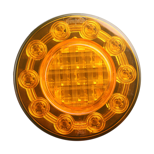 Amber Indicator Rear Lights