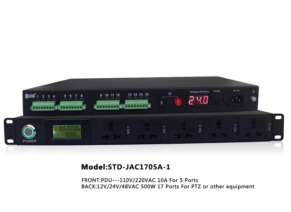 Rack Mounted Acdc Power Supply