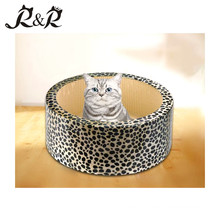 Paw Essentials Sofa Estilo Cardboard Cat Scratcher - Lounge Cat para coçar RCS-8015