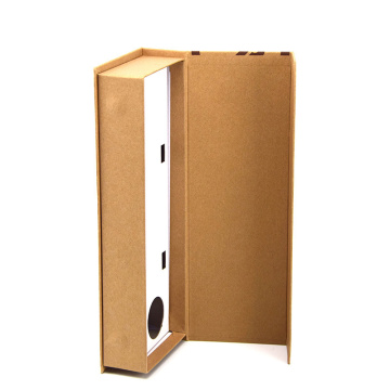 Kraft Paper Book-shape Rigid Gift Box