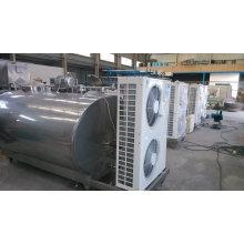 Réservoir de refroidissement au lait horizontal ou vertical