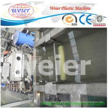 Machine de granulation de plastique de brin de recyclage de rendement élevé de 300kg / h