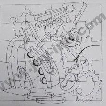 Puzzle Coloring Set