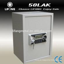 Visor LCD cofre do escritório, double-segurança em casa, seguro 50LAK seguro
