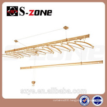 Szone Telescopic drying rack ceiling drying rack with double rack