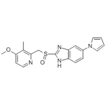 1H-Benzimidazole,2-[[(4-methoxy-3-methyl-2-pyridinyl)methyl]sulfinyl]-6-(1H-pyrrol-1-yl)- CAS 172152-36-2?