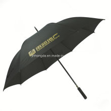 "27"" Black Advertising Promotional Stick Golf Umbrella (YSS0114)"