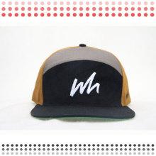 Chapéus de couro do camionista dos chapéus do Snapback do couro da forma