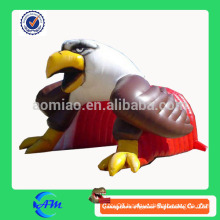 football team baseball team eagle advertising inflatable tunnel