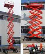 Vehicular mobile hydraulic lift