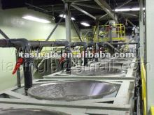 fire-proof and water proof paper-faced gypsum board production line
